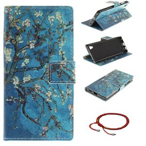 GOCDLJ Schutzhülle für Sony Xperia L1 PU Leder Flip Cover Tasche Ledertasche Handytasche Hülle Handyhülle Case Etui…