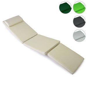 Nexos Sitz-Auflage Polster für Deckchair Steamer Holzliege Liegestuhl hochwertig