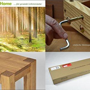 Naturholzmöbel Seidel Sitzbank,Rio Bonito, 160x38cm, Bank Pinie Massivholz, geölt und gewachst, Farbton Honig hell, Optional: passende Tische