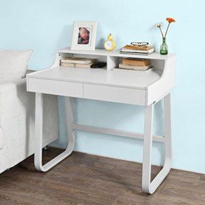 SoBuy Schreibtisch Tisch Kinderschreibtisch Bürotisch FWT22-W