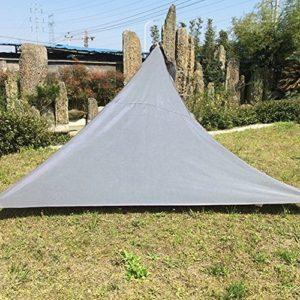 Sonnensegel für den Garten, wasserdicht, dreieckig, Terrasse, Party, Pool, Vorzelt, Outdoor, Camping, Zelt, mit Seil