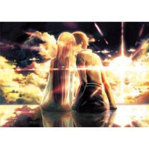 Sword Art Online (34inch x 24inch / 85cm x 60cm) Silk Print Poster – Seide Plakat – B28E09