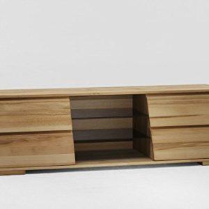 Möbel Roslev A / S TV-Board TV-Anrichte TV-Konsole Kernbuche massiv gewachst Wohnzimmer TV Lowboard