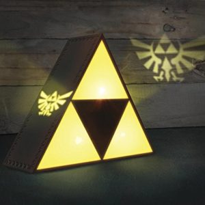 The Legend of Zelda Triforce Lampe Gelb/Grau