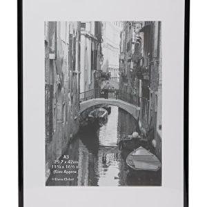 The Photo Album Company A3 29,7 x 42 cm Rücklader ohne Glas Zertifikat / Foto / Bilderrahmen – Schwarz