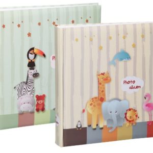 Tiere Fotoalbum in 30×30 cm 100 Seiten Babyalbum Jumbo Foto Album