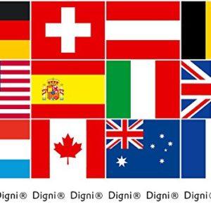Tischflagge / Tischfahne Deutsches Reich Reichsflagge + gratis Aufkleber, Flaggenfritze®