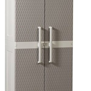 Schrank Rattan Mega Light Grey / Warm Grey Modell