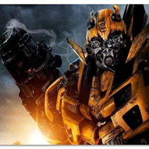 Transformers Format: 150×100 cm Bild auf PVC-Plane/Banner, Hochwertiger XXL Kunstdruck als Wandbild inkl. Ösen!!