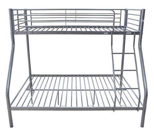 triple etagenbett metall rahmen kinder kid erwachsene sleeper doppelbett boden und single auf. Black Bedroom Furniture Sets. Home Design Ideas