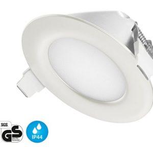 Ultra Flach LED Einbaustrahler IP44 | auch für das Bad geeignet | Warmweiss Kaltweiss | 4W 230V Einbauspots Einbauleuchten Badleuchten