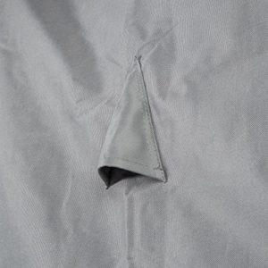Ultranatura Gewebeschutzhülle für Gartenmöbel Sylt, robuste Abdeckung aus wasserdichtem Polyester, Durchmesser ca. 125…