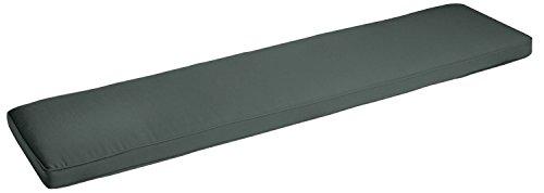 VEGA Bankauflage Donato, 160x39x8cm (BxLxH), anthrazit, 1 Stück