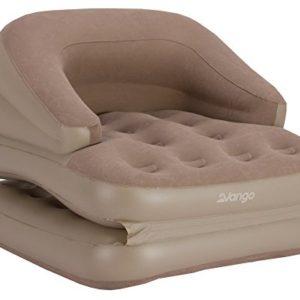 Vango Aufblasbares Einzelsofa/ -Bett, Farbe Muskat, One Size