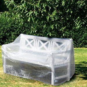 WEHNCKE Schutzhülle für Gartenbänke ca. 160 x 80 x 75 cm