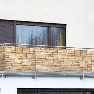 Wenko Balkon Sichtschutz Mauer