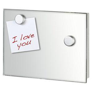 WENKO Magnet Schlüsselkasten Spiegel, Gehärtetes Glas