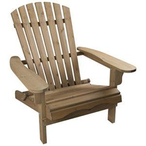 Woodside Adirondack-Stuhl – für Gärten & Terrassen – Holz