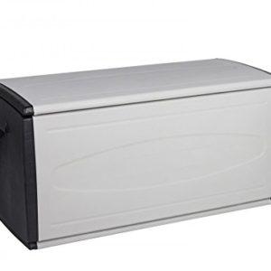 XXL Box mit 308 Liter Volumen und viel Platz für Ihre Stuhlauflagen, Kissen oder andere Gegenstände – robust, abwaschbar…