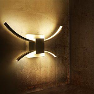 ZMH LED Wandleuchte 18W innen modern Wandlampe 4000K Neutral weiß Wandbeleuchtung energiesparend Lampe …