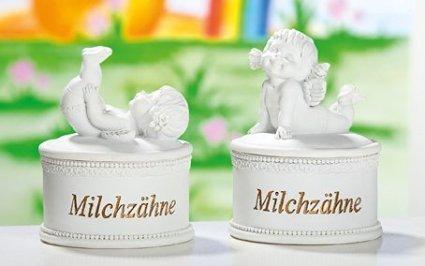 Zahndose Serie Schutzengel Lucy 1 Dose für Milchzähne sort. 1von2 Modellen