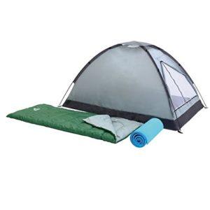 """Desantis 'Zelt Camping (68000)""""campak 2Sitzer mit 2Schlafsäcke und 2Fußmatten D"""