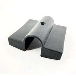 Cortassa, Einsteckkappe aus Kunststoff, Modell Doppelzentral – Tür Leisten – Ersatzteil für Latten 6 Stück