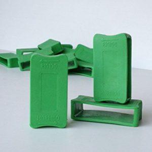 Cortassa, Schiebern für die Härte der Leisten von 67mm–aus Kunststoff–Lendenwirbelsäule–Notebook-Latten 6pz