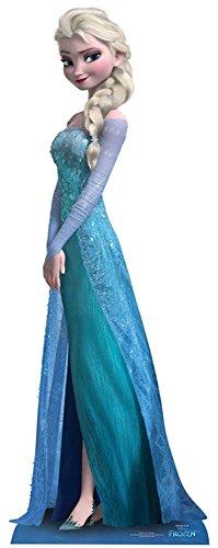 empireposter – Frozen – Elsa – Größe (cm), ca. ca. 161 – Pappaufsteller, NEU – Beschreibung: – Life-Size Stand-up, Lebensgroßer 2D Pappaufsteller –