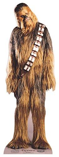 falksson Aufsteller aus Pappe Chewbacca – Star Wars in Lebensgröße 197 cm