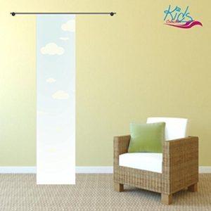 gardinen-for-life Flächenvorhang Kids Wolken, Gr.60×245 cm Schiebevorhang mit Druck-Motiv, Toller Kinderzimmervorhang