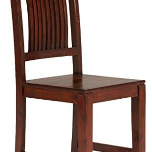 massivum Stuhl Texas 43x100x43 cm Palisander braun lackiert