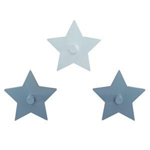 roba Wandhaken 'Little Stars' mit Sterne Motiv, Wand Garderobe & Deko fürs Baby- & Kinderzimmer