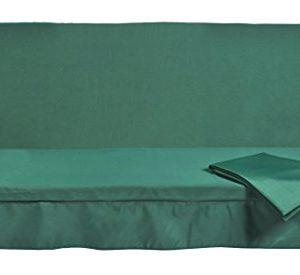 Stiliac 9411t302Set Kissen Notebook, Grün, 150x 55x 6cm