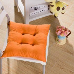 Srovfidy Weiches Sitzkissen für den Garten, 40 x 40 x 8 cm