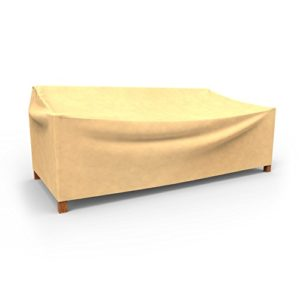 Budge Allwetter-Abdeckung für zweisitzige Gartensofas, Large, P3W06SF1, hellbraun (88,90 x 147,32 x 96,52 cm [H x B x T…