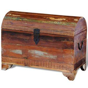 vidaXL Aufbewahrungstruhe Vintage Recyceltes Massivholz Schatztruhe Truhe