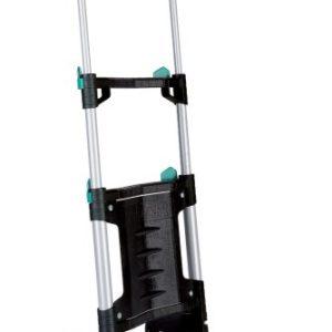 wolfcraft TS 300 Transportsystem 5530000 | Klappbare Handkarre für Lasten bis zu 30 kg | Leichte Sackkarre für den alltäglichen Transport von Einkäufen, Getränkekisten, u.v.m
