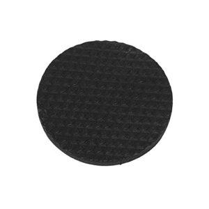 12Pcs Circular Black rutschfeste selbstklebende Gummifüße Pads Protektoren Möbel für Schränke Kleine Haushaltsgeräte Electronics Bilderrahmen Möbel Schubladen Schränke