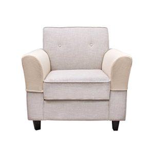 BETTERLE Armlehnenbezug, dehnbares Gewebe für Ihre Möbel, Anti-Rutsch-Armlehnenbezug, für Stoff- und Leder-Liegestühle…