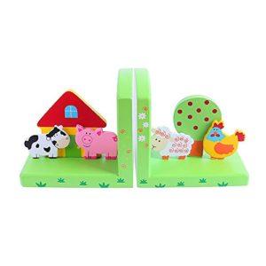Bigjigs Toys Buchstützen (Bauernhof)