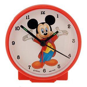 Disney Kinder Analog Wecker mit Einer Digitale Armbanduhr