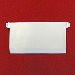 Easy-Shadow – 10 Stück Hochwertige Beschwerungsplatten Gewicht für Lamellenvorhang Stofflamellen Breite 89 mm – Vertikal…