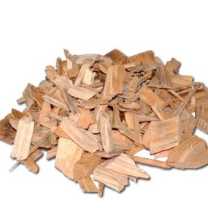 Eiche Holz Smoking Chips Big 500 g Beutel