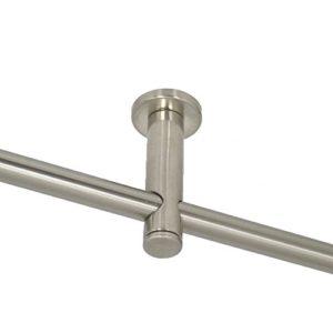 Einläufiger Deckenträger für 16 mm Rohre