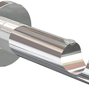 Flairdeco Träger offen für 20 mm Ø Gardinenstange, 1-läufig, Metall, Chrom