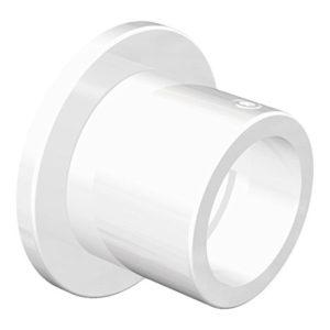 Flairdeco Nischenträger Wandlager für 20 mm Ø Gardinenstange, Metall, Weiß, 2 Stück
