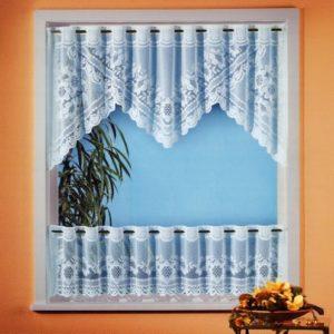 Gardine Vorhang Scheibengardine 2-teiliges Bistro-Set HxB 60×160 cm AKTION Typ160