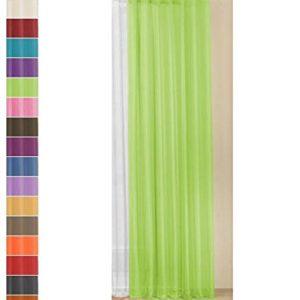 Gardinenbox Schlaufenschal Voile, transparent, Höhen 175,225,245,280 cm -61175-, 61175