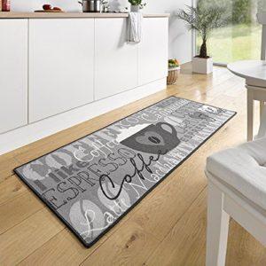 Hanse Home Küchenläufer Coffee Cup Grau, 67×180 cm